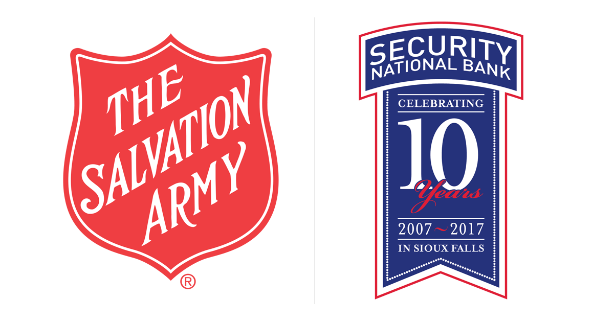 Salvation Army and Security National Bank of South Dakota