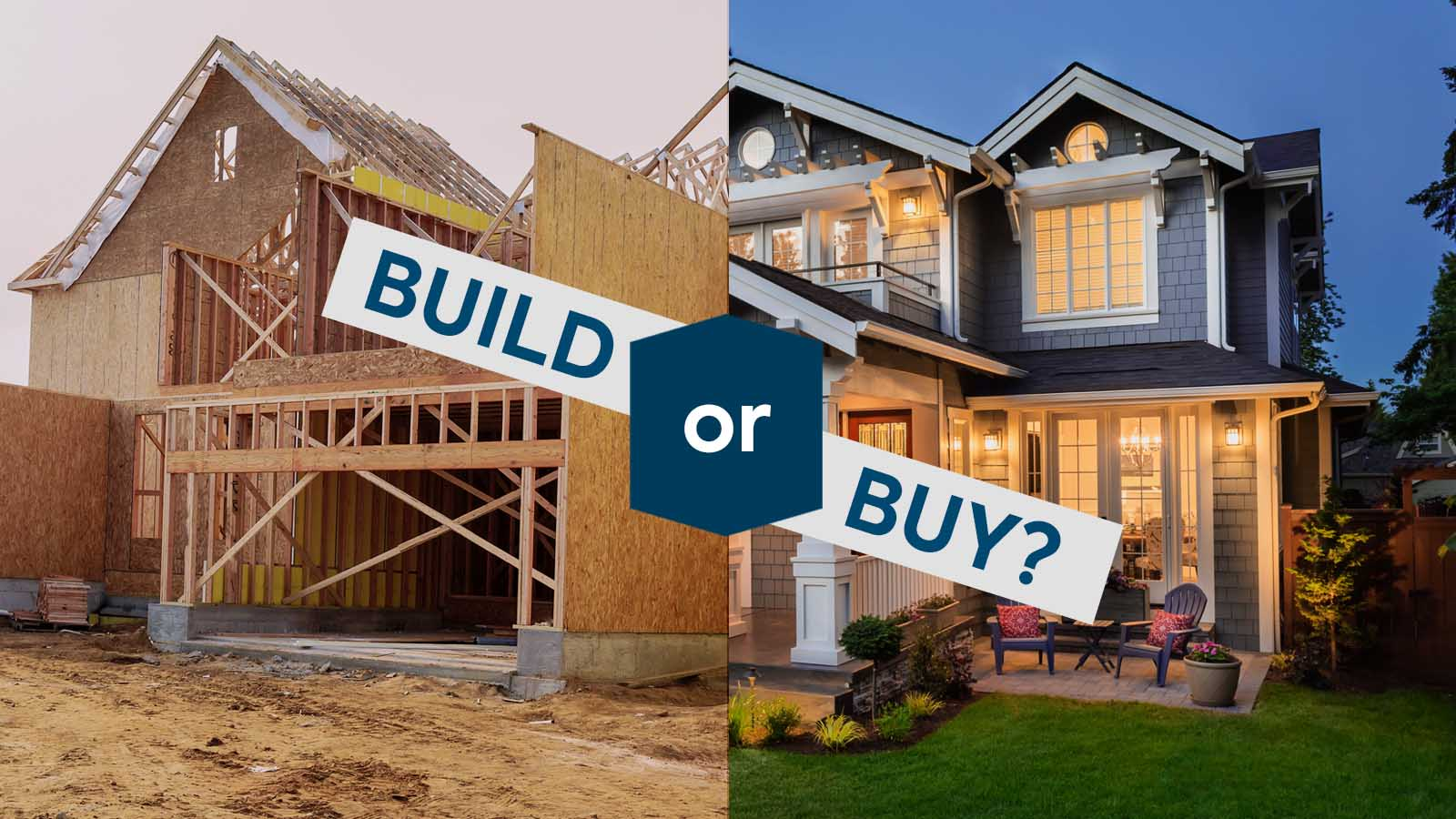 Build or Buy a House?